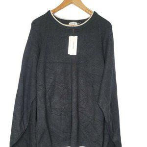 Calvin Klein Womens Long Sleeve Poncho Sweater 1X
